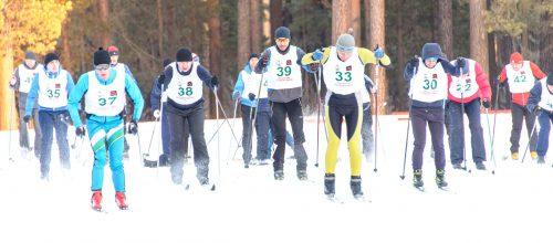 Лыжные гонки (дети)