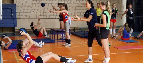 Волейбол девочки (малый зал)