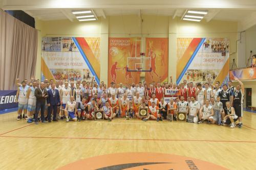 2018-04-15 Турнир по баскетболу среди руководителей подразделений ТМК